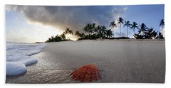 Sea Shell Sunrise Beach Towel