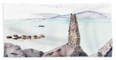 Sea Squirrel Beach Towel
