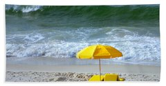 Beach Towel featuring the photograph By The Sea Waiting For Me by Nava Thompson