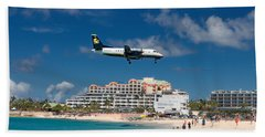Seaborne Airlines At St. Maarten Beach Towel