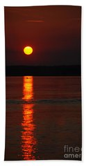 Seabrook Sunset Beach Towel