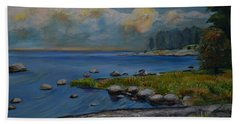Seascape From Hamina 2 Beach Towel