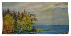 Seascape From Hamina 3 Beach Towel