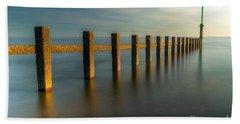 Seascape Wales Beach Towel