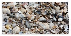 Seashells On The Beach Beach Sheet