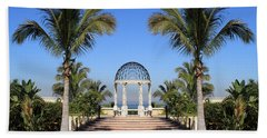 Seaside Gazebo Beach Towel