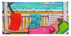 Seaside Siesta Beach Towel