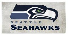 Seattle Seahawks Fan Panel Beach Towel