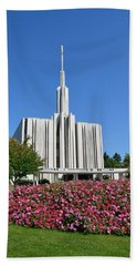Seattle Temple Beach Towel