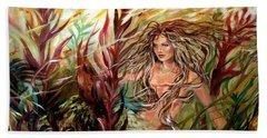 Seaweed Mermaid Beach Sheet