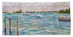 Sebastian Marina Beach Towel