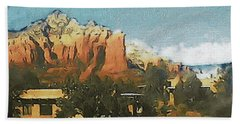 Sedona Beach Sheet by Susan Maxwell Schmidt