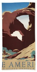 See America - Cowboys Beach Towel