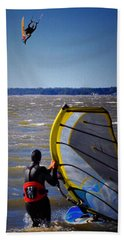 See Ya Roun Beach Towel by Robert McCubbin