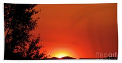 Beach Towel featuring the photograph See You Tomorrow by Janice Westerberg