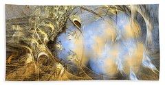 Seeds Of Peace -abstract Art Beach Sheet