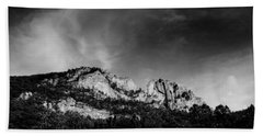 Seneca Rocks Beach Towel by Shane Holsclaw