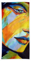 Beach Sheet featuring the painting Sentiment by Helena Wierzbicki