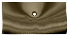 Sepia Sunrise Beach Towel