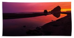 Serenade Flow Beach Towel