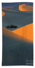 Death Valley Serenade In Light Beach Towel