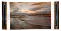 Serene Sunrise Beach Towel