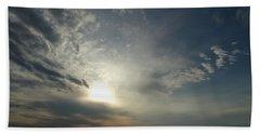 Serenity Sunset Beach Towel by Joseph Baril