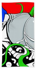 Serpent Of Time Beach Towel