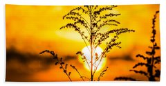 Setting Sun Beach Towel