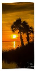 Settting Sun Beach Towel