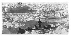 Shackleton's Antarctic Venture Beach Towel