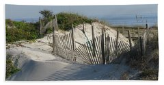 Shadow Fence Beach Towel