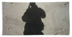 Shadow In Afghanistan  Beach Towel