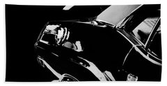 Old Cars Beach Towel featuring the photograph Shadow Of American Muscle by Aaron Berg