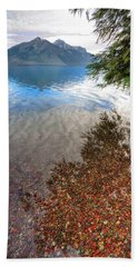 Shadow Pebbles Beach Towel
