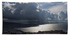Beach Sheet featuring the photograph Shadows Of Clouds by Georgia Mizuleva
