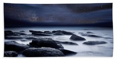 Shadows Of The Night Beach Towel