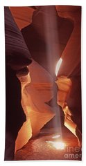 Shaft Of Light Antelope Canyon Beach Towel