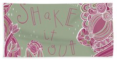 Shake It Out Beach Towel