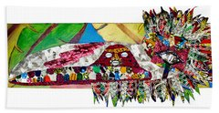 Shango Firebird Beach Towel
