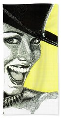 Shania Twain Beach Towel