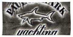 Shark Sign Beach Sheet