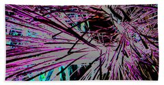 Beach Towel featuring the photograph Shatter  by Jamie Lynn