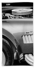 Shelby Cobra 427 Engine Beach Towel