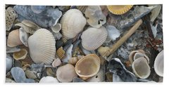 Shell Mosaic Beach Towel