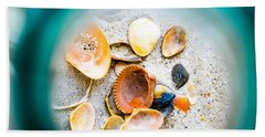 Shell Paradise  Beach Sheet by Mary Ward