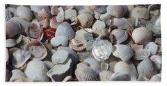 Shells On Treasure Island Beach Towel
