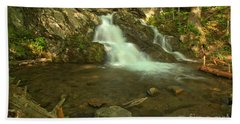 Shenandoah Upper Doyles River Falls Beach Towel