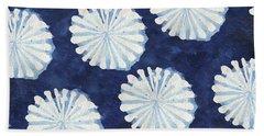 Shibori IIi Beach Sheet by Elizabeth Medley