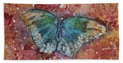 Shimmer Wings Beach Towel